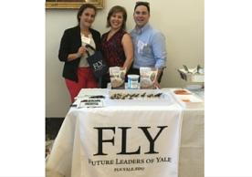 Steering committee members represent FLY at Breaking Bread Together