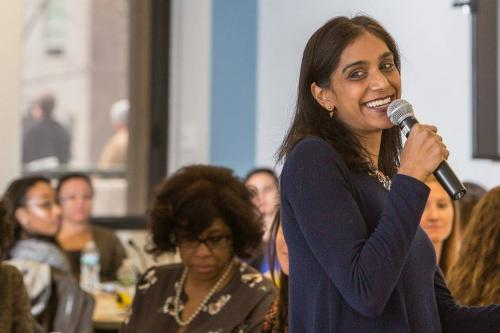 Asha Rangappa, Associate Dean of Admissions and Financial Aid at Yale Law School